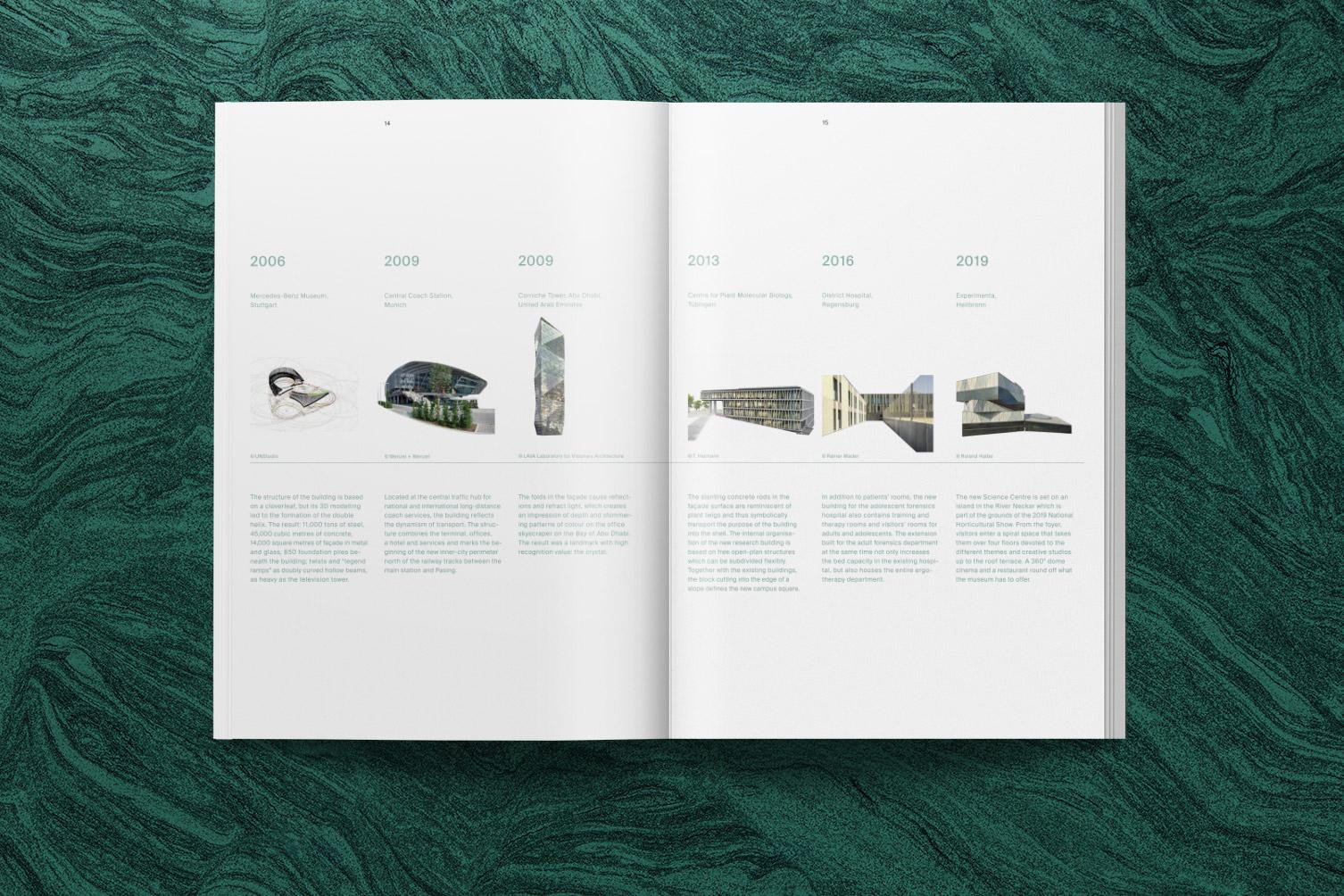 Wenzel + Wenzel, Architekten, Broschüre, Magazin