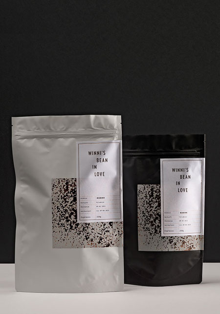 Verpackung, verpackungsdesign, Kaffee
