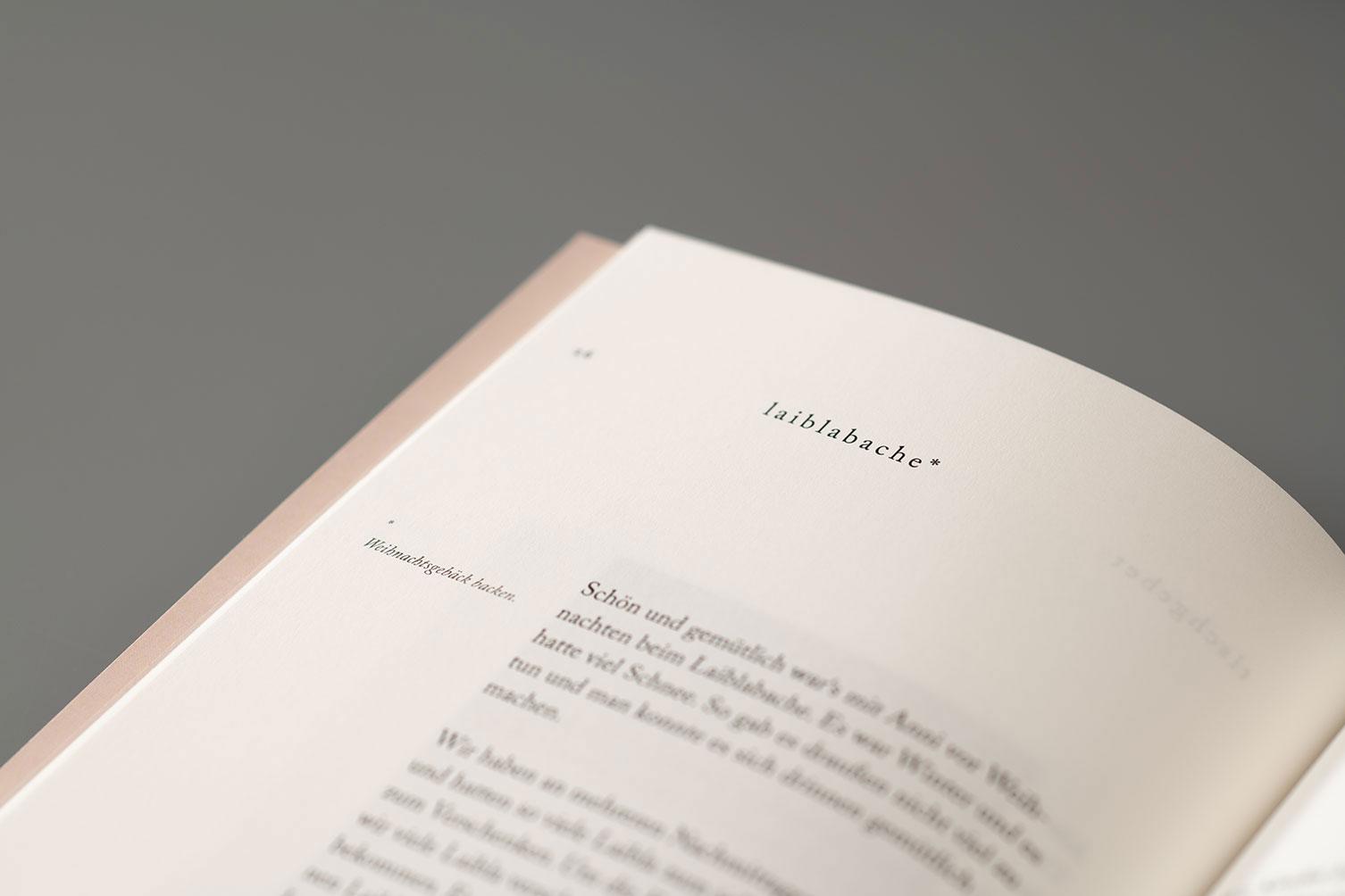 Editoral Design, Heimatgeschichten, Buch, Detail