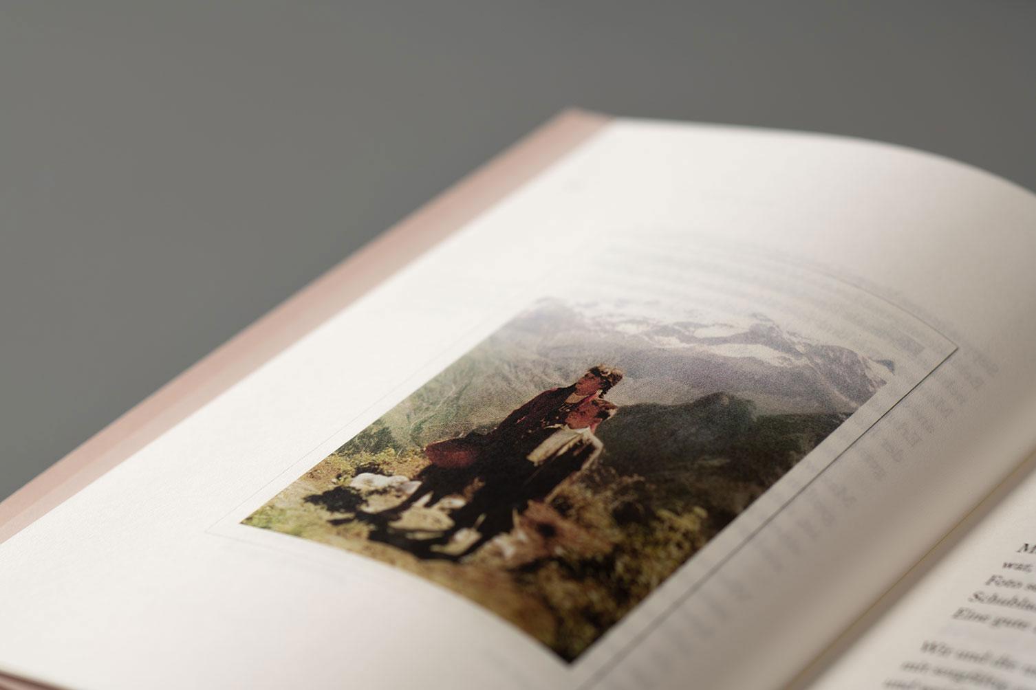 Editoral Design, Heimatgeschichten, Buch