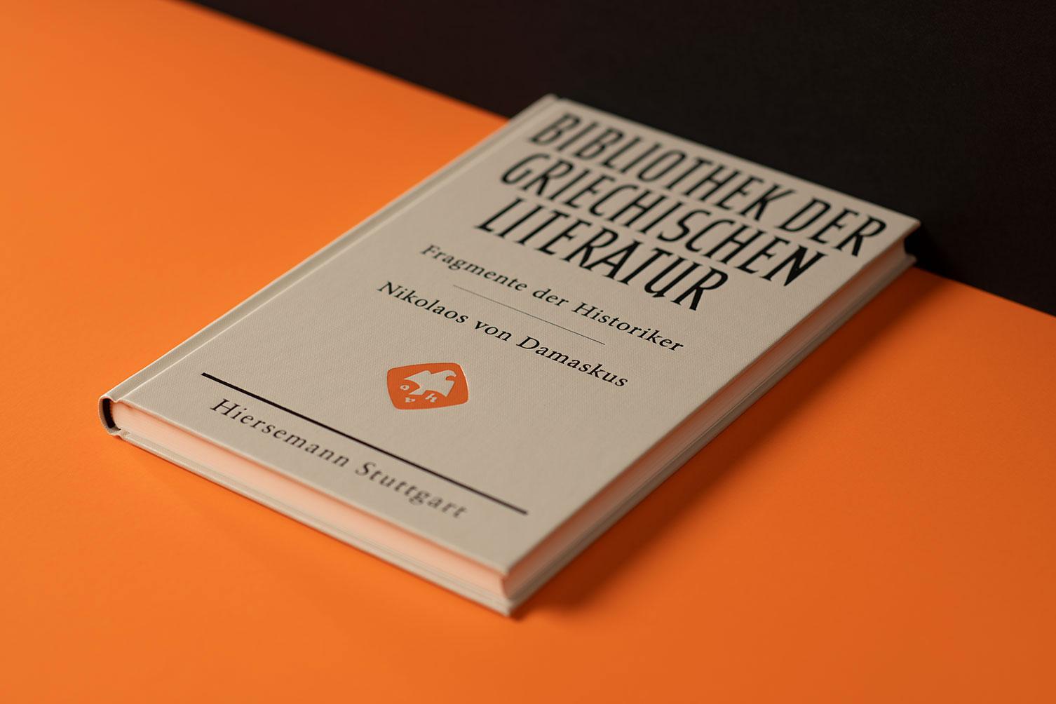 Hiersemann, Hauswedell, Verlag, Stuttgart, Redesign, Logo, Buch