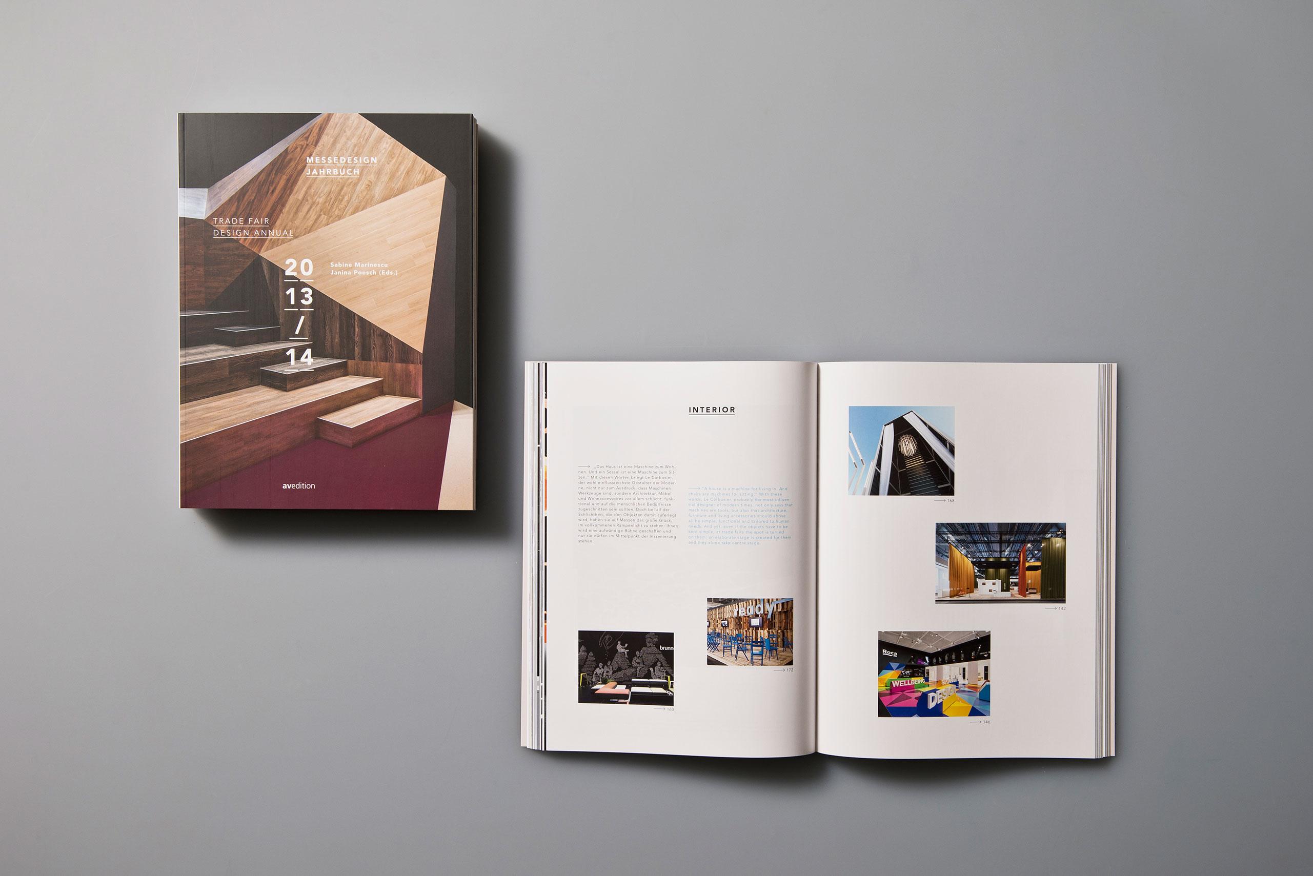 Avedition, Buch, Editorial Design