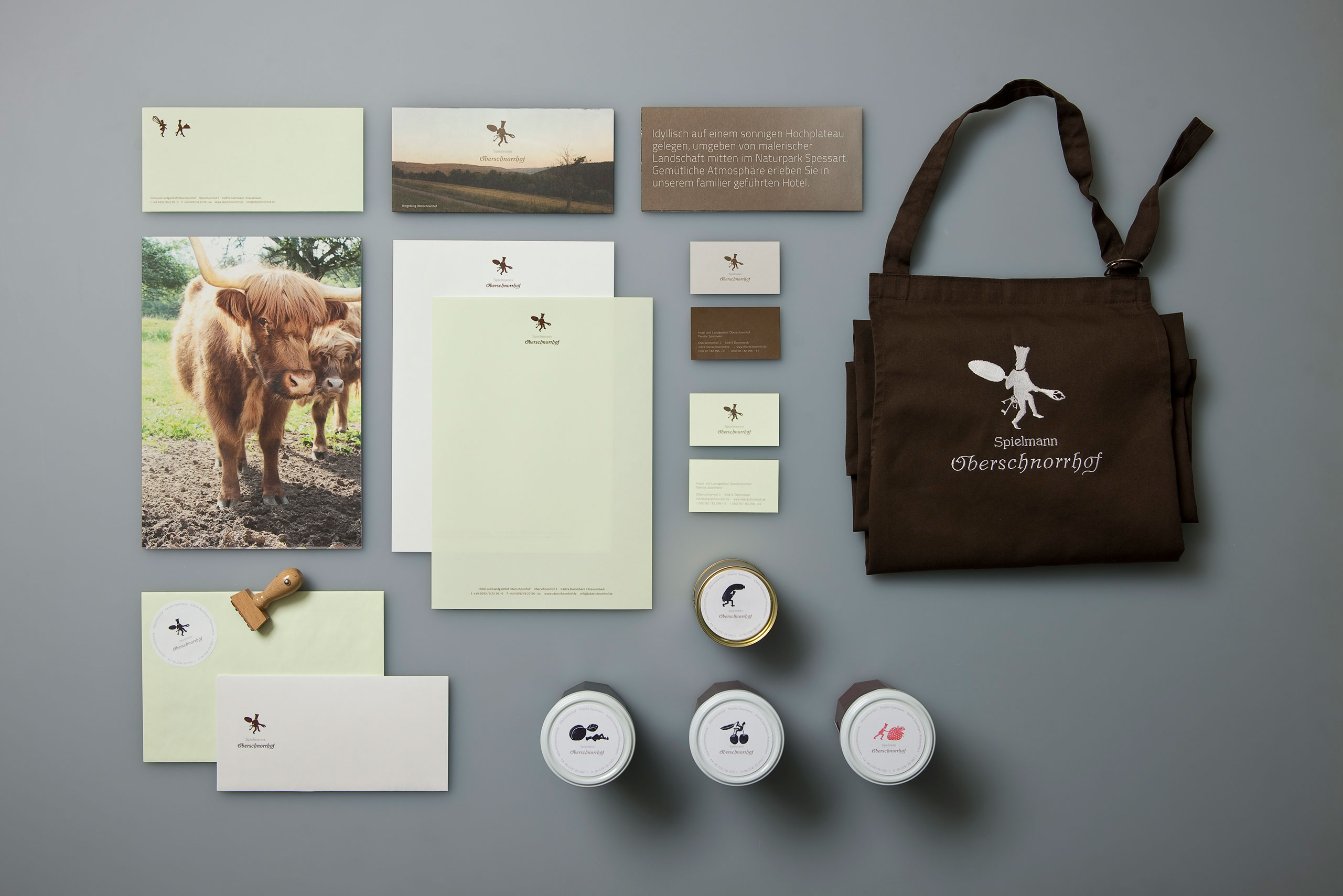 Visitenkarten, Flyer, Briefpapier, geschäftsausstattung, Verpackungen, Schürze, Restaurant, Corporate Design