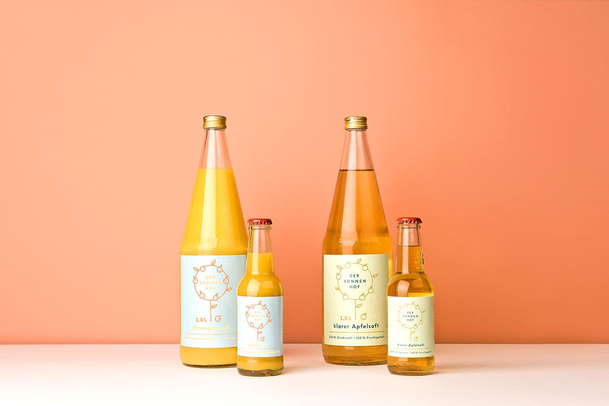 Verpackungsdesign, Getränke, Flaschen