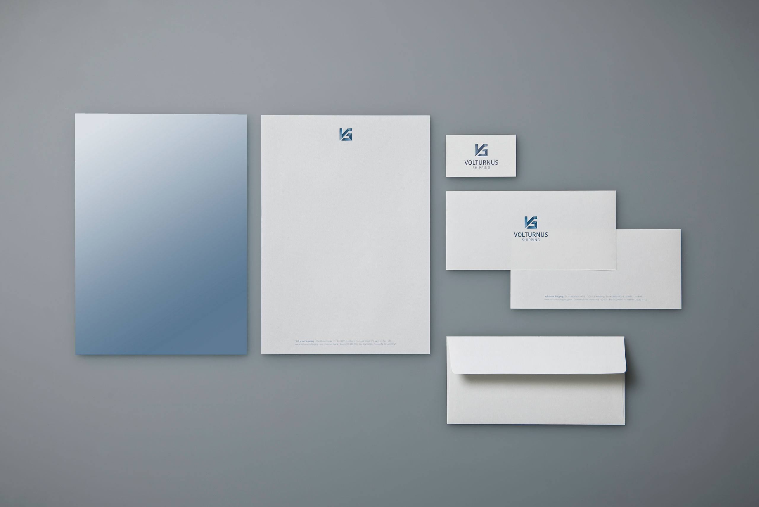 Corporate Design, Schiff