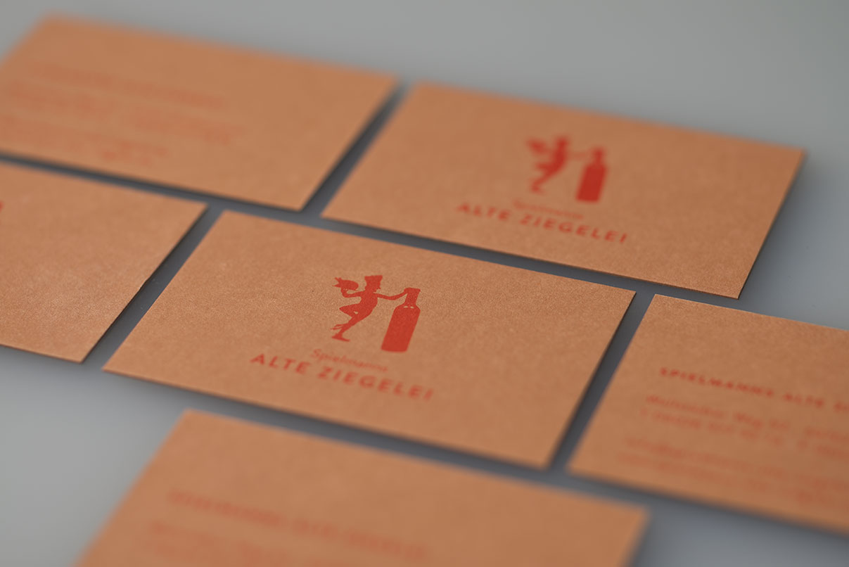 Visitenkarten, Restaurant