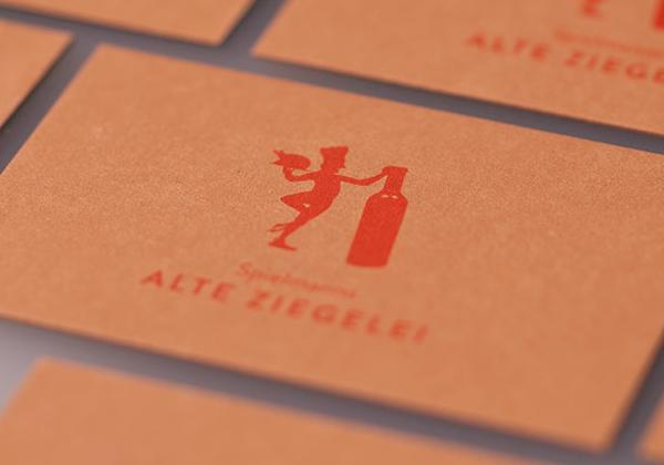 Visitenkarte, Restaurant, Biergarten