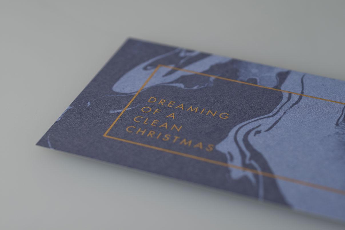 Weihnachtskarte, Grundwasser, Obeflächengewässer, Boden, Altlasten und Flächenrecycling