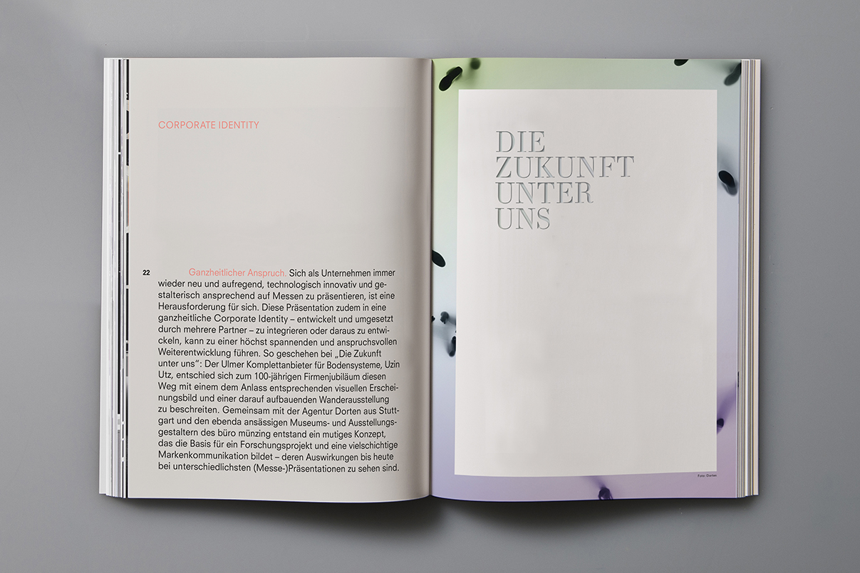 Buch, Editorial Design