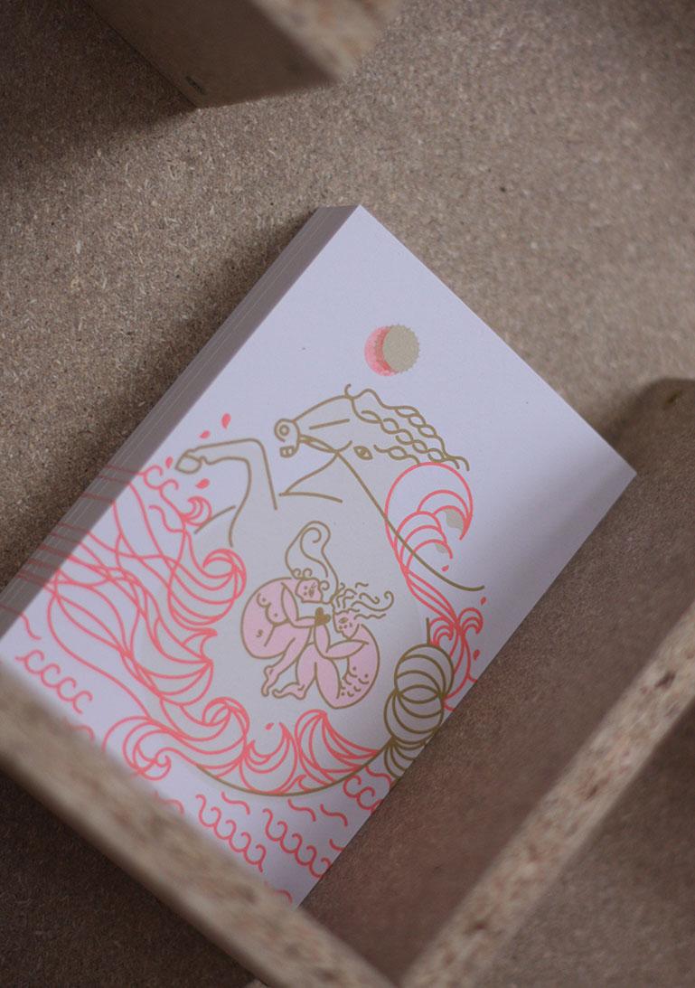 Postkarte, Postkartenset