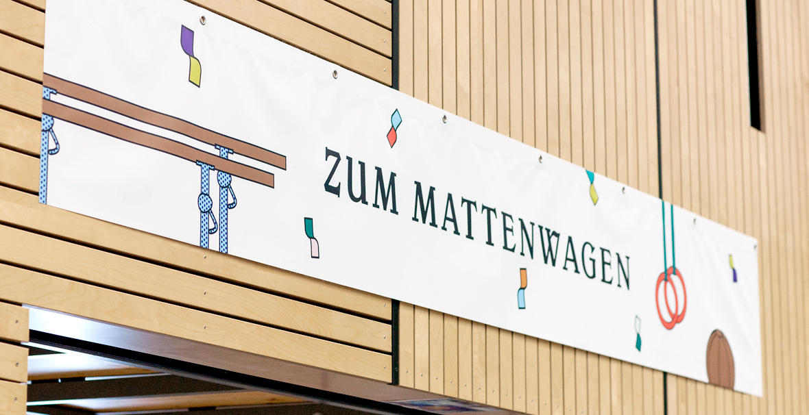 Corporate Design Schule, Gymnasium, Dillmann, Plakat, Banner