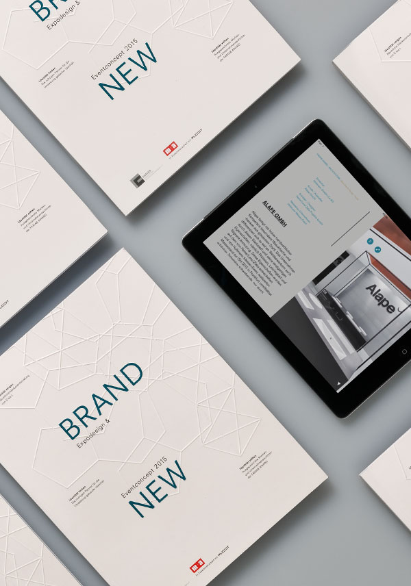 Brand New, Buch, Messedesign