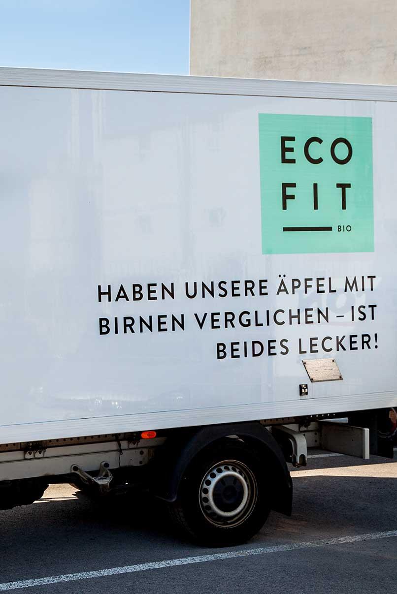 Lastwagenbeschriftung, Coporate Design