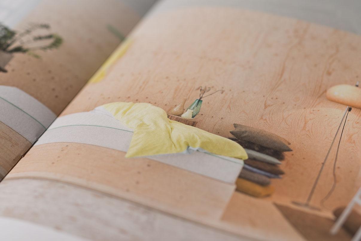 Broschüre, Matratzenhersteller