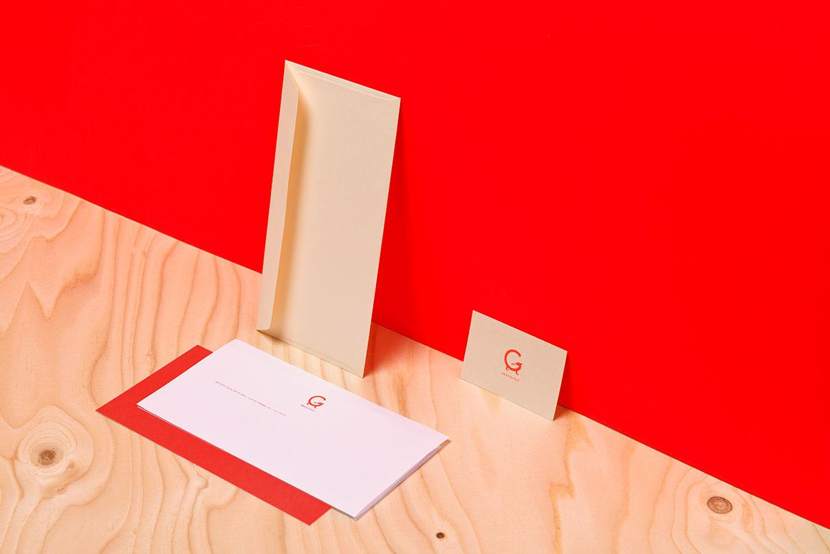 Briefpapier, Visitenkarte, Matratzenhersteller
