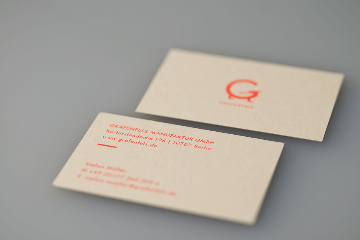Visitenkarte, Matratzenhersteller