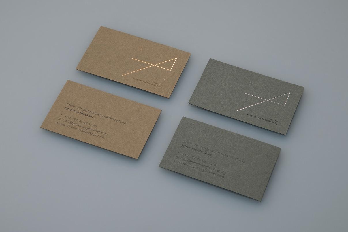 Visitenkarte, Industriedesigner, Corporate Design
