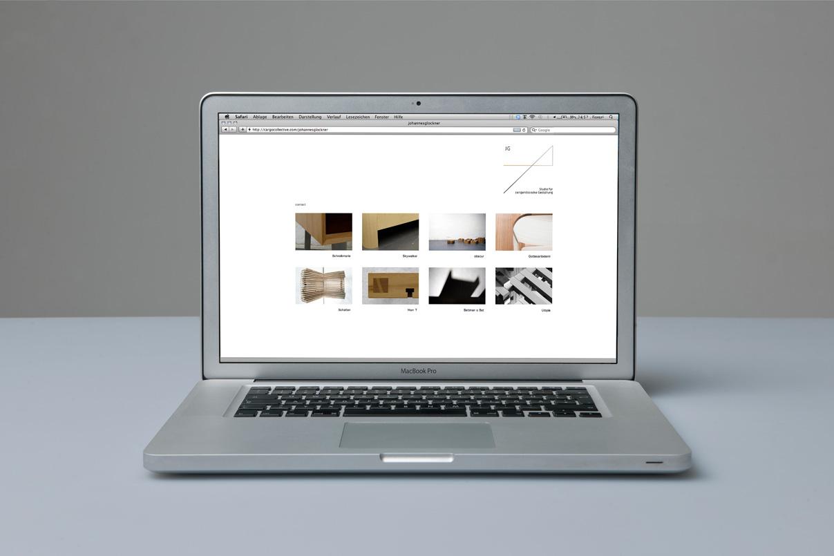 Website, Industriedesigner, Schreiner, Johannes Glockner