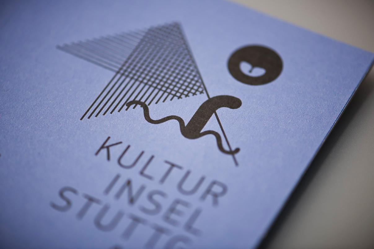 Kulturinsel Stuttgart, Flyer
