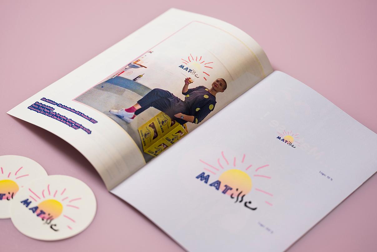 Broschuere, Matisse, Kunstkatalog