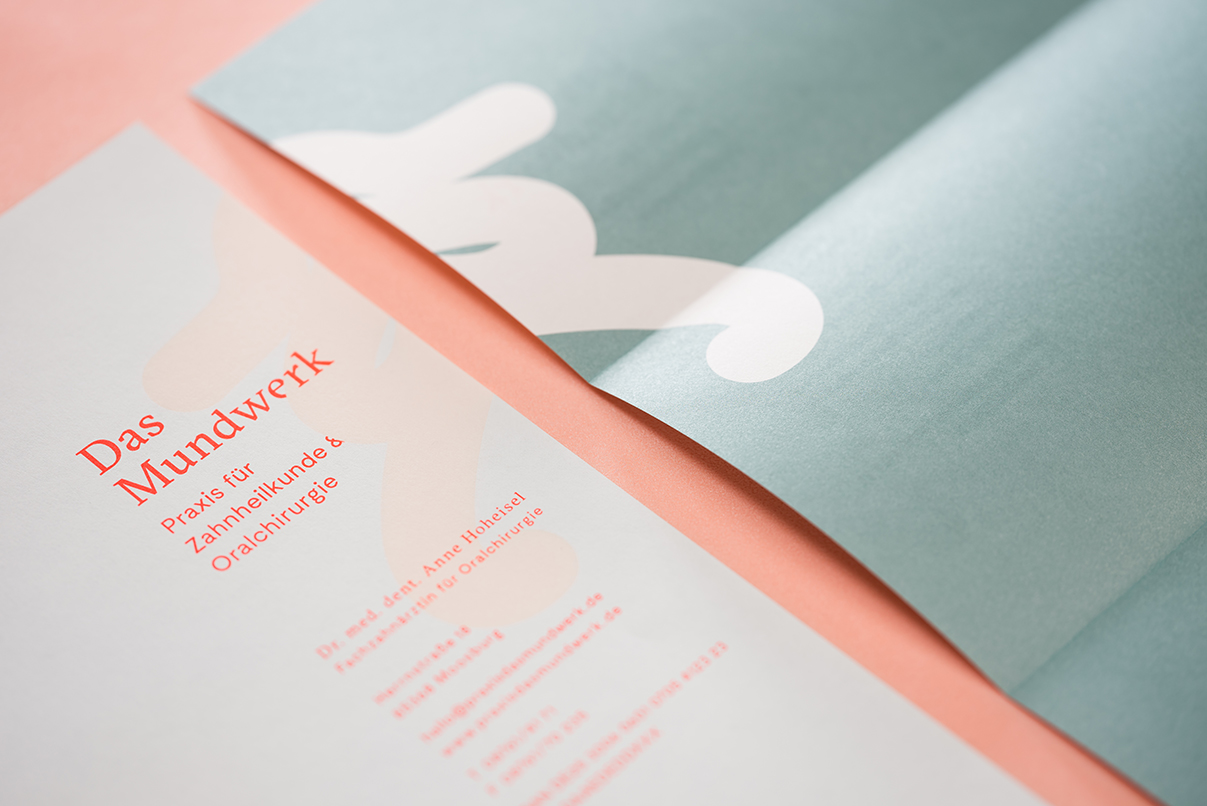 Zahnarzt, Briefbogen, Corporate Design, das Mundwerk, Geschäftsausstattung