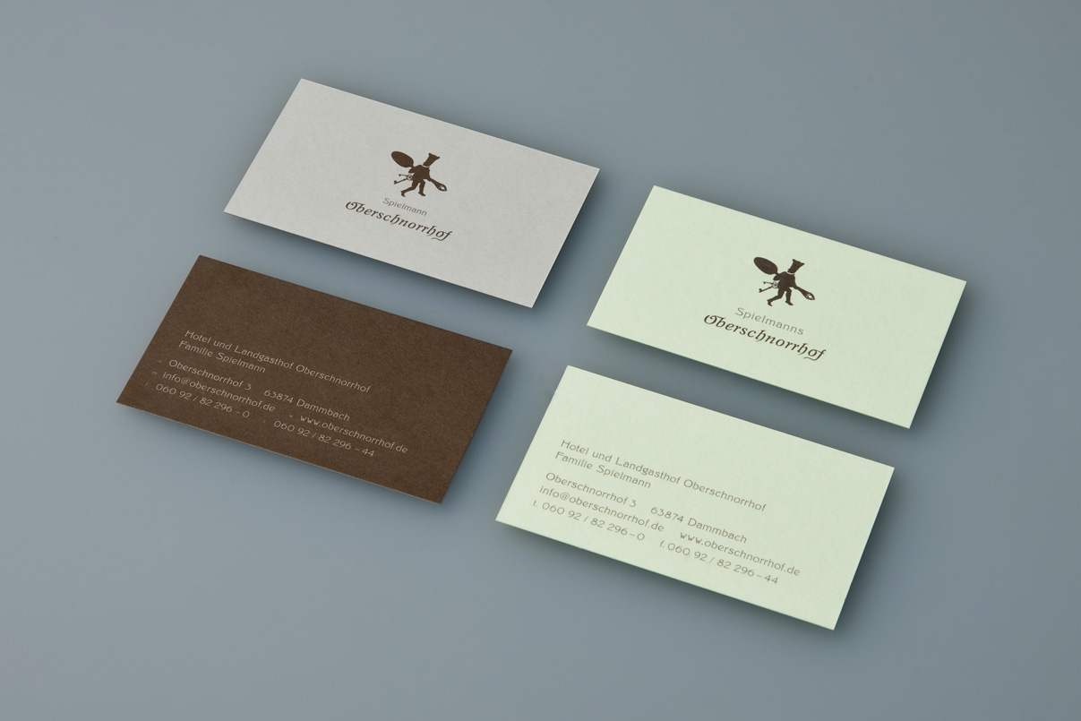 Visitenkarten, Restaurant, Corporate Design