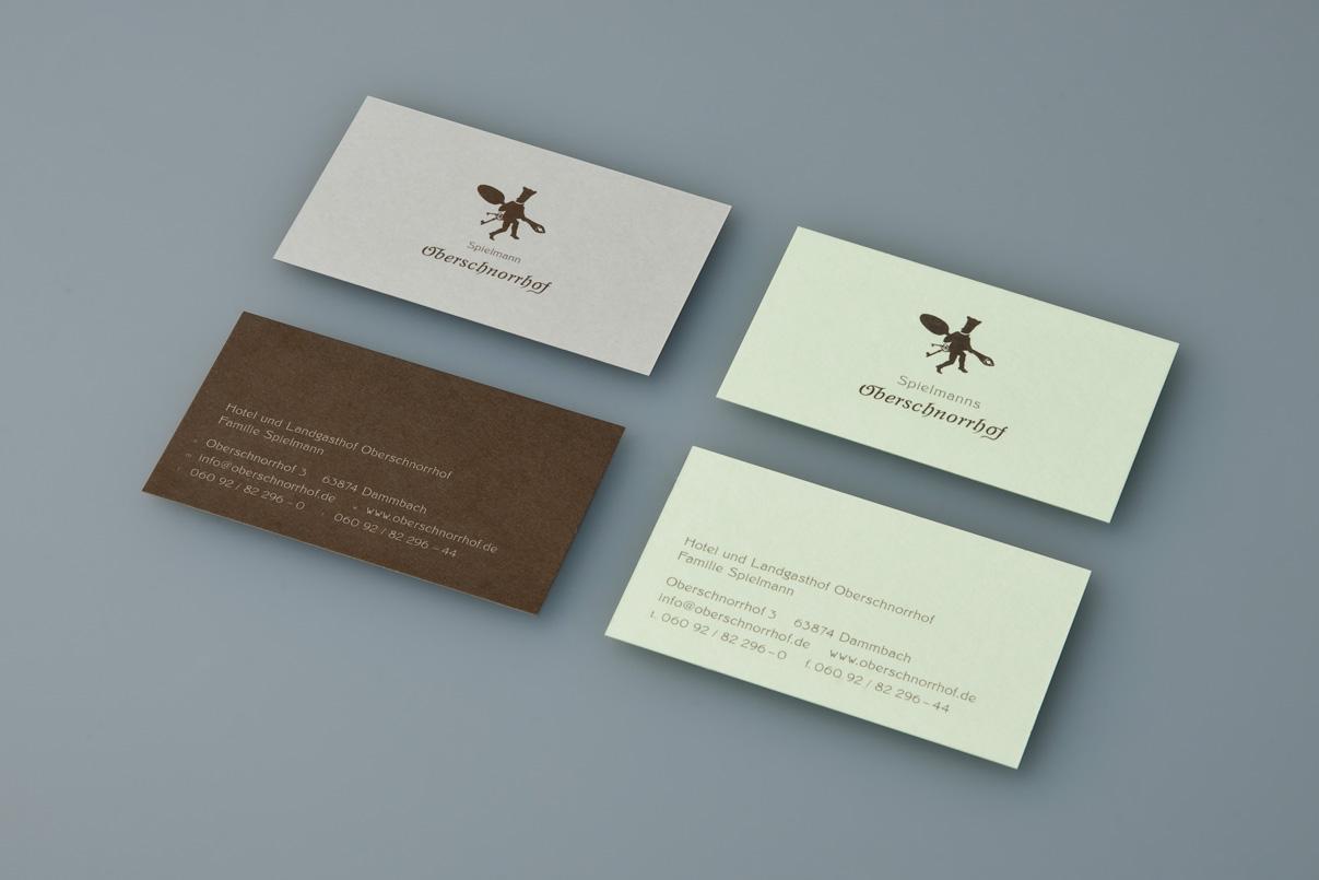 Visitenkarten, Restaurant, Corporate Design