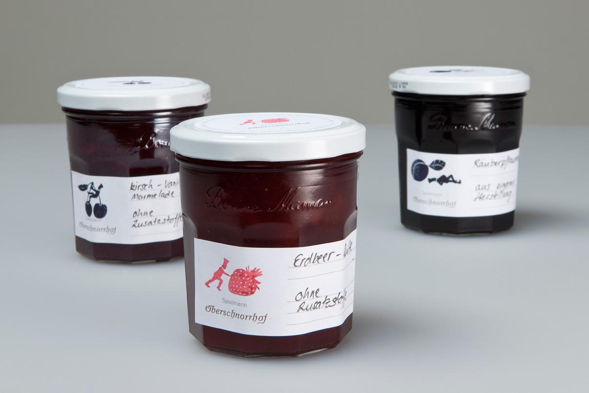 Verpackung, Marmelade, Verpackungsdesign, Eigenproduktion, Restaurant, Corporate Design