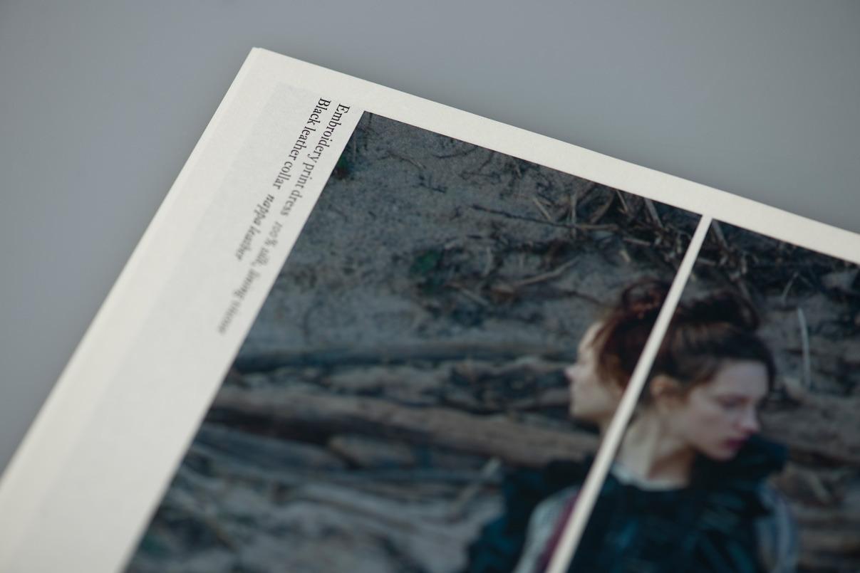 Lookbook, Broschüre, Modelabel