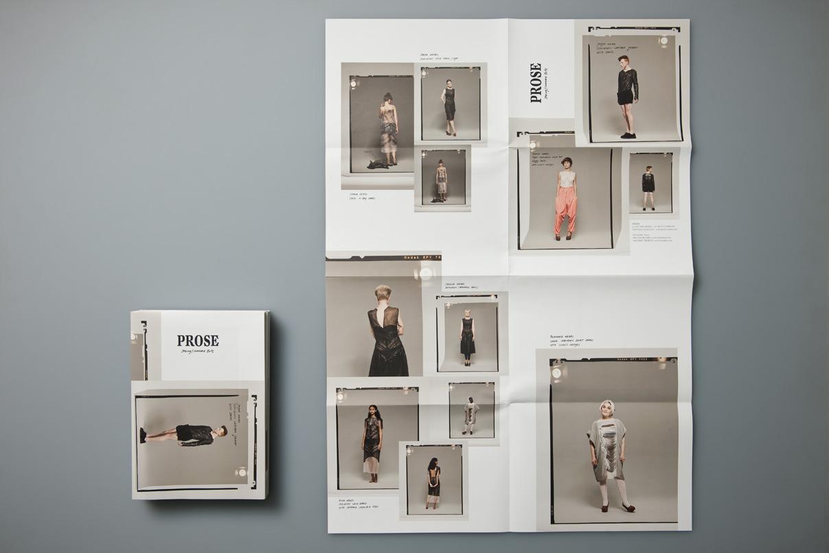 Lookbook, Plakat, Modelabel
