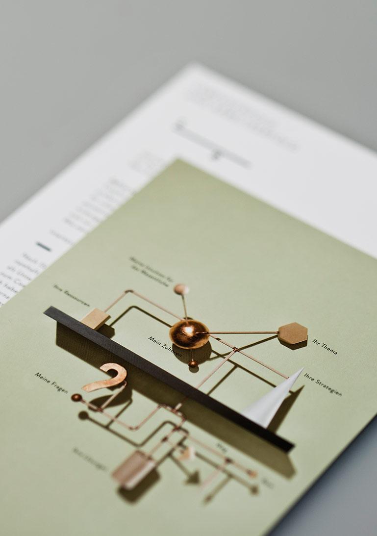 Flyer, Geschäftsausstattung, Coach, Corporate Design