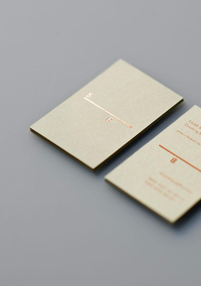 Visitenkarten, Geschäftsausstattung, Coach, Corporate Design