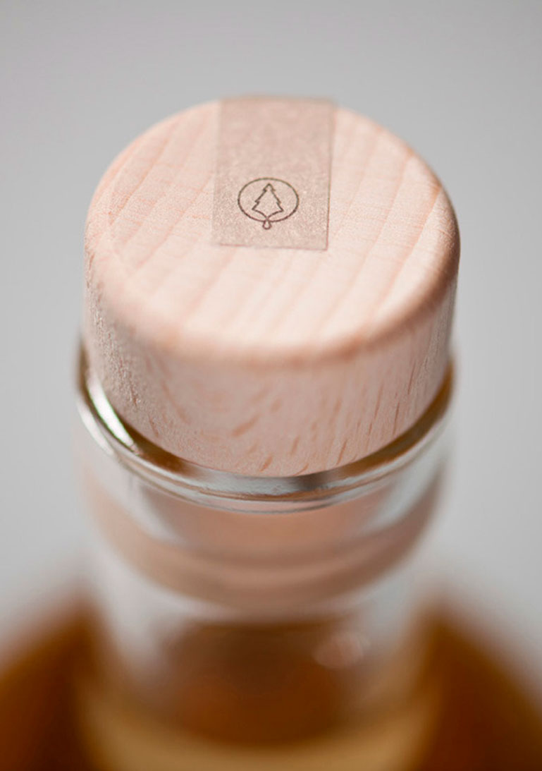 Verpackungsdesign, Etikett, Flasche