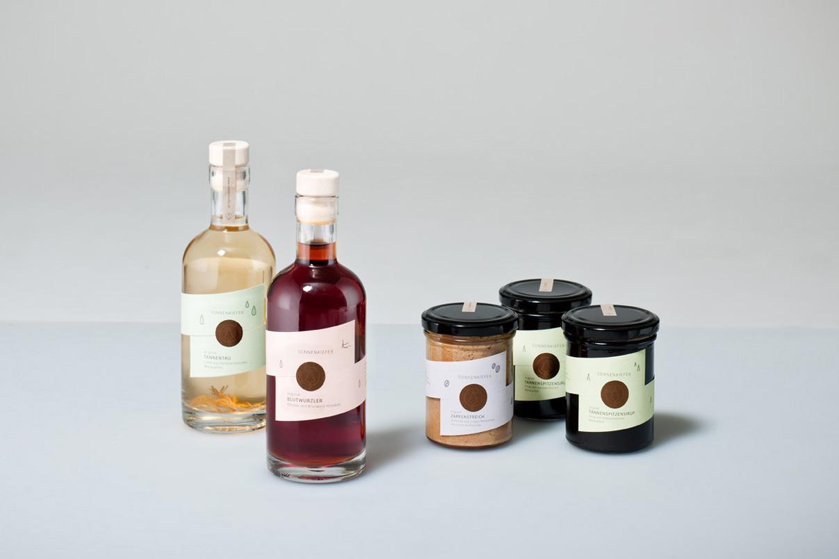 Verpackungsdesign, Alkohol, Marmelade, Etikett