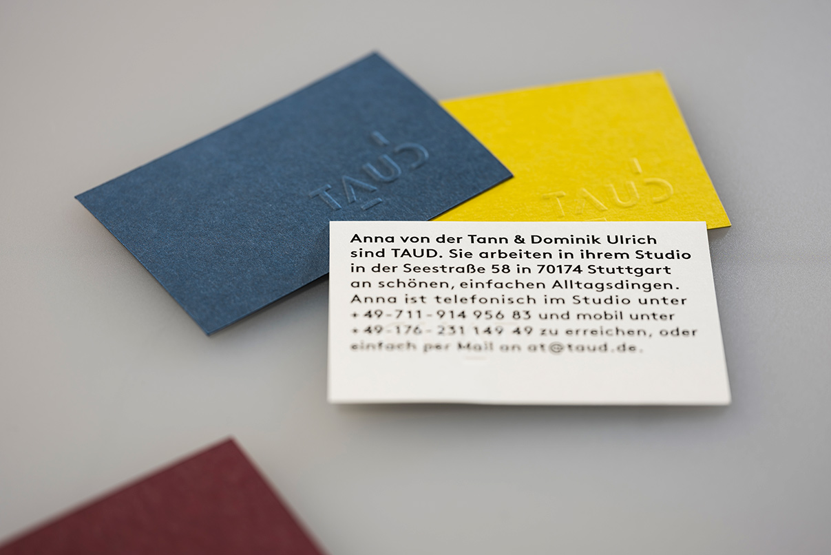 Produktdesign, minimalistisch, simpel, Corporate Design, Visitenkarten
