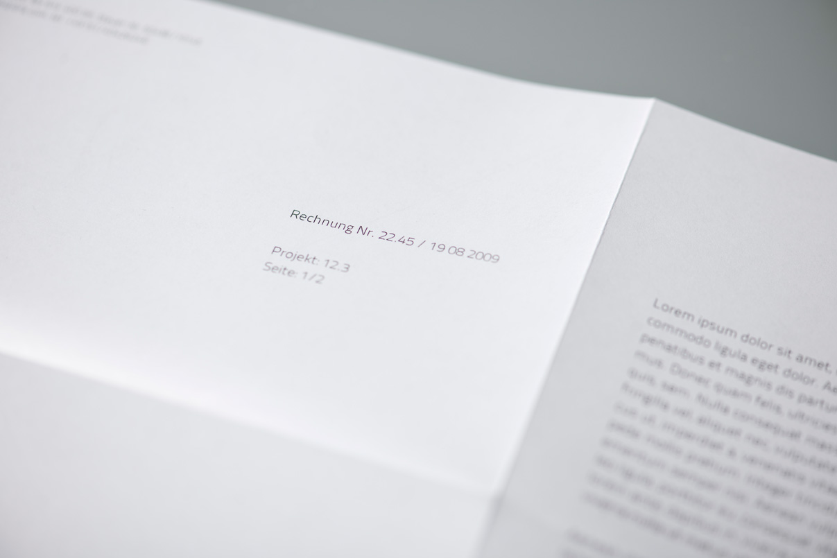 Briefbogen, Fotograf, Corporate Design