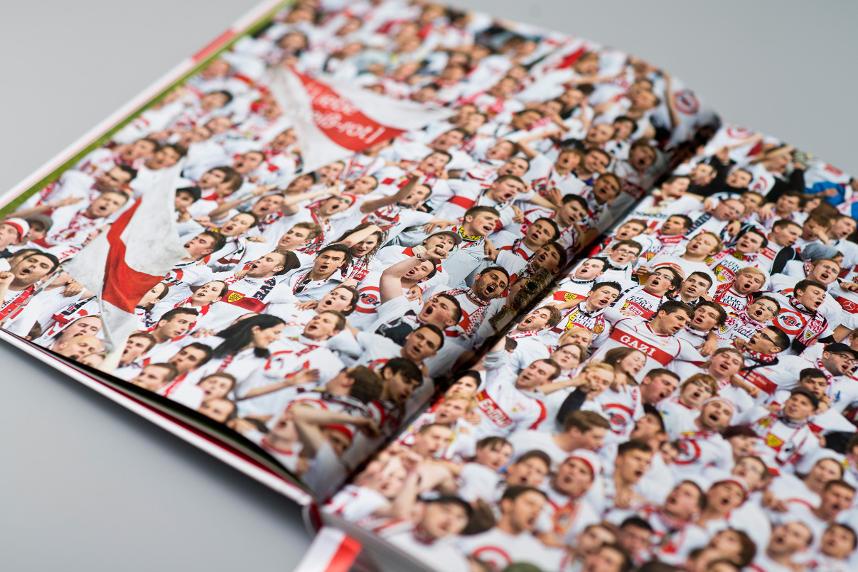 VfB Fans, Editorial Design