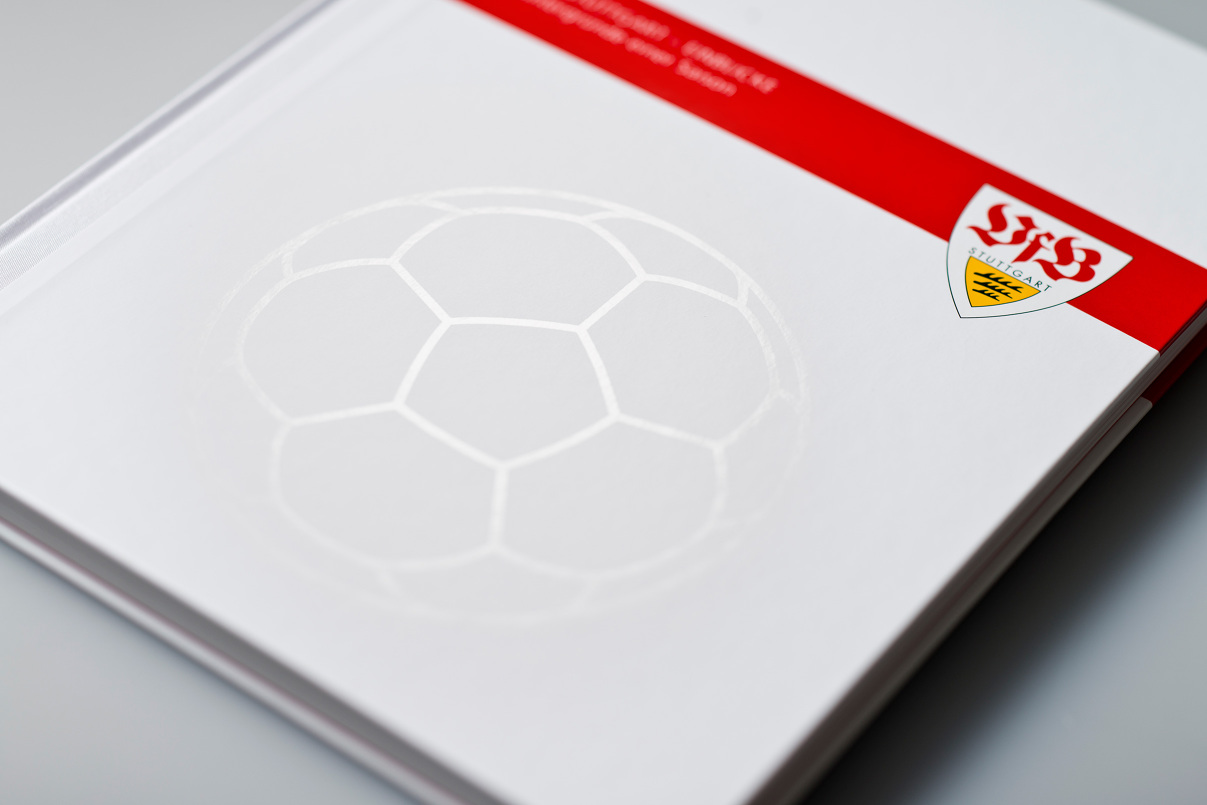 VfB Fussball, Editorial Design, Buch