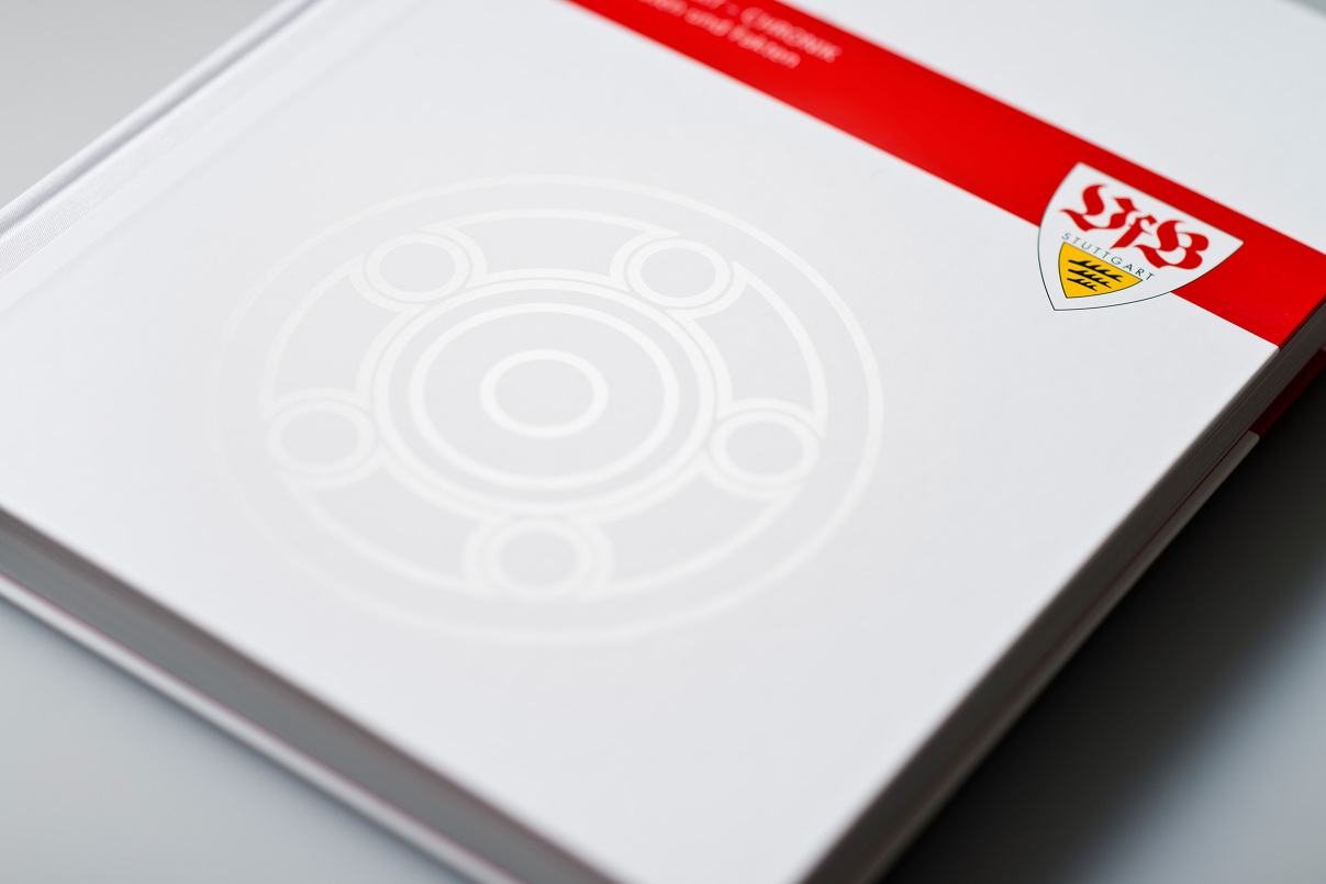 VfB Meisterschale, Editorial Design, Buch