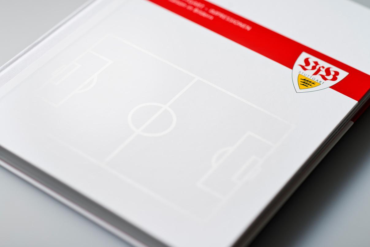 VfB Spielfeld, Buch, Editorial Design