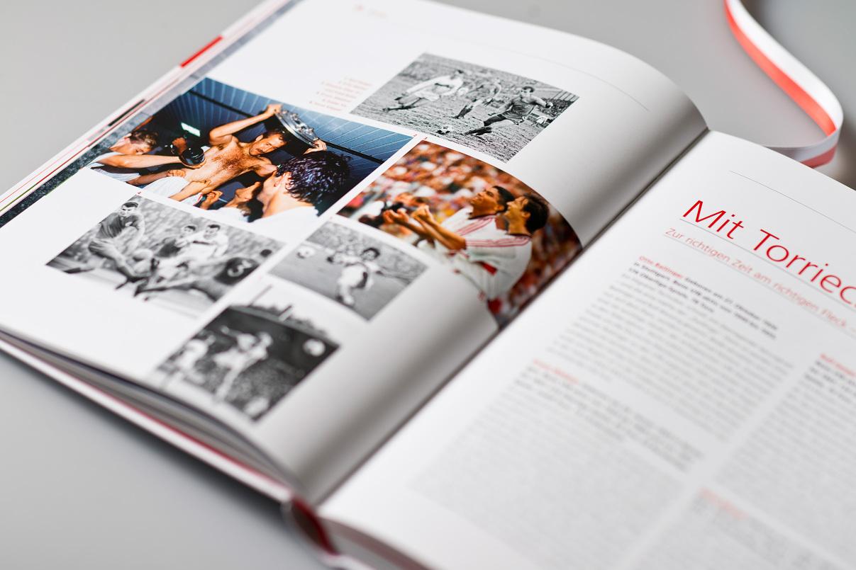 VfB Buch, Editorial Design