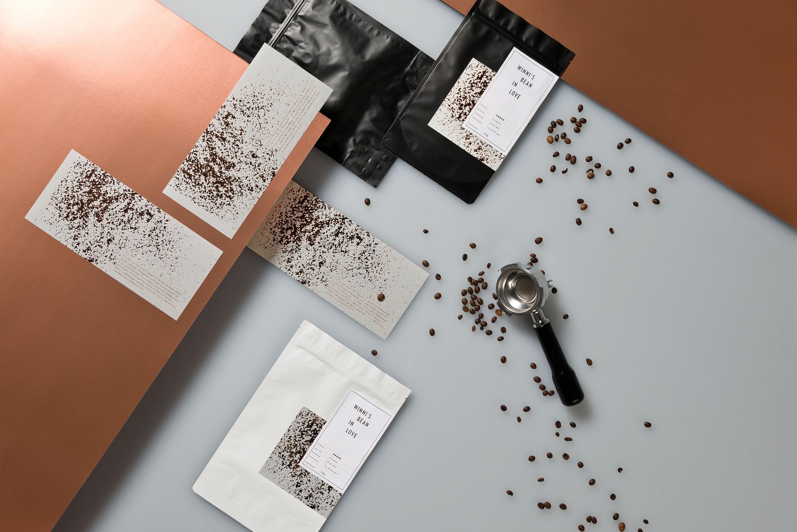 Verpackungsdesign, Kaffee