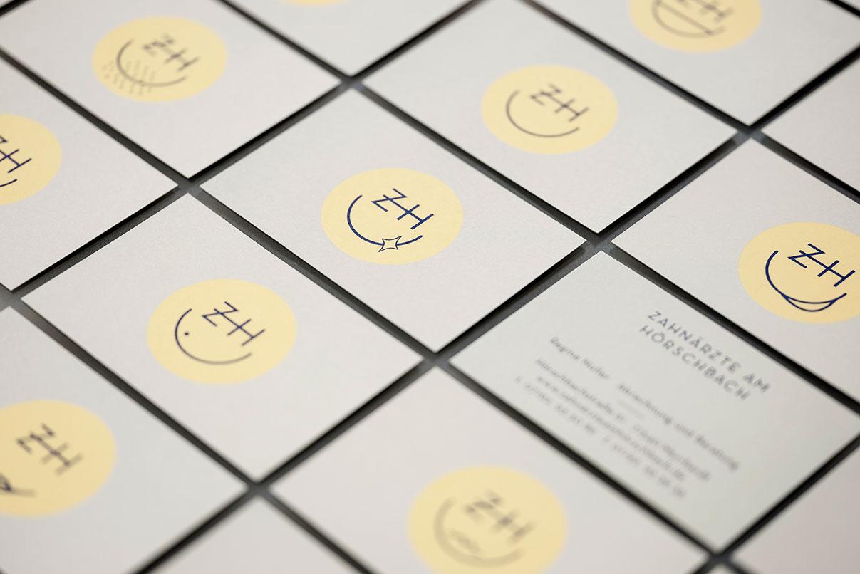 Visitenkarten, Zahnarzt, Corporate Design