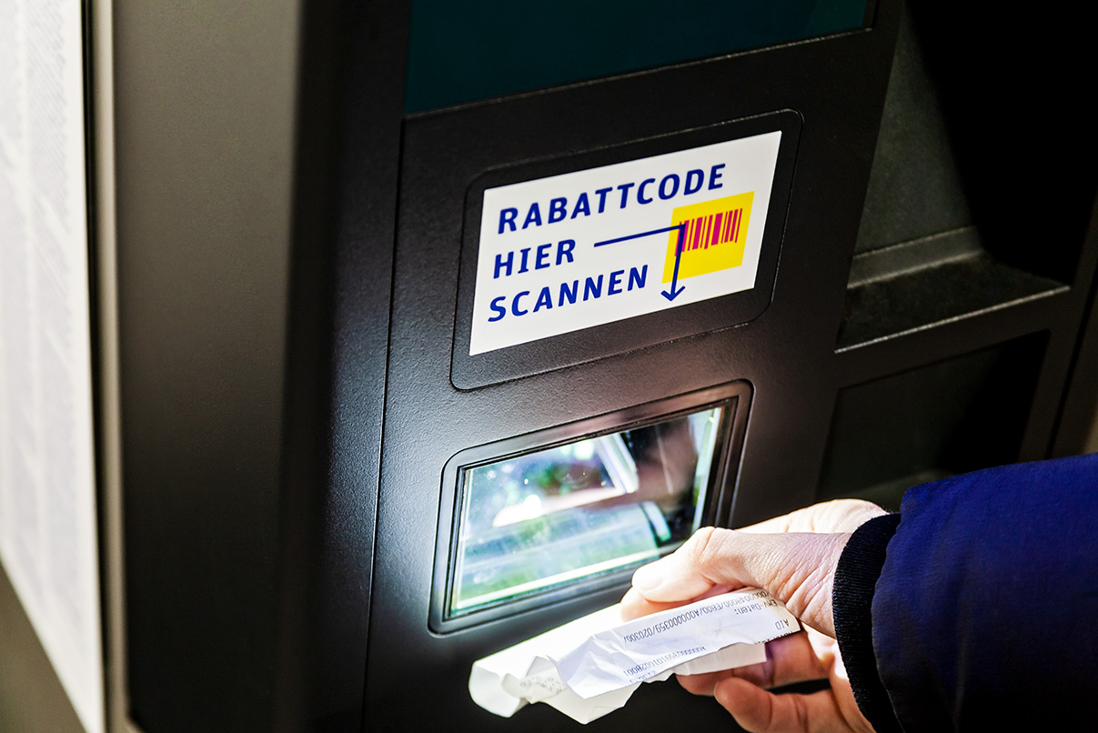 DPG, deutsche Parken Gesellschaft, Flyer, Parkautomat, Design